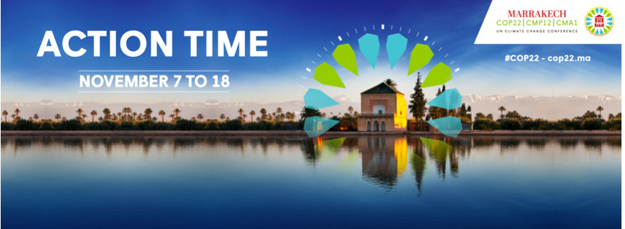 Have you heard the news on COP22 in Marrakech?