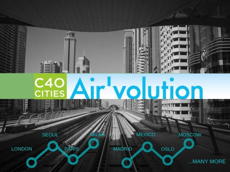 Air'volution: cities improving air quality!