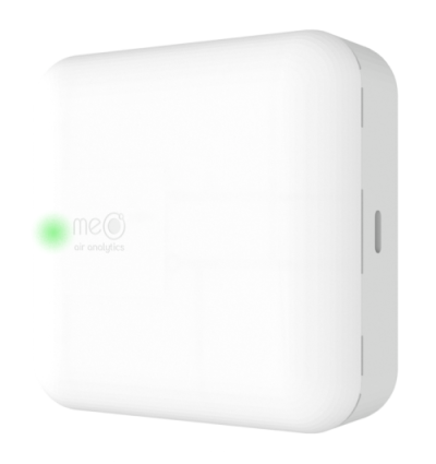 > Safe Air for Schools > Protect Students and Teachers > meo mini > your advanced CO2 monitor